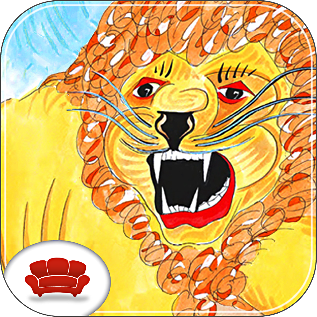 Tales from the Watering Hole – Interactive Children's Storybooks with Puzzles, Games, and Painting Activities based on the